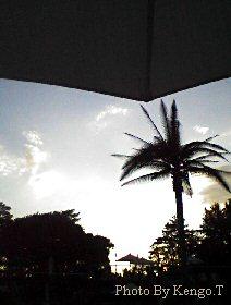2004.08.20(18:02) ホテルニューオータニの夕暮れ
