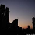 西新宿の夜明け