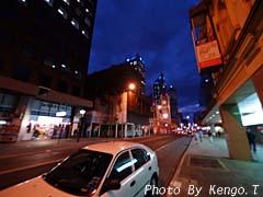 2005.08.30(18:15) 夜の街(西オーストラリア パース)