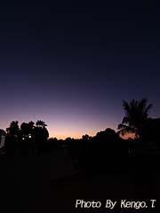 2005.08.31(18:24) 夜景(西オーストラリア エクスマウス ポットショットホテル)