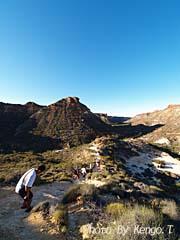 2005.09.02(16:50) 下山(西オーストラリア エクスマウス ケープ・レンジ ナショナルパーク)